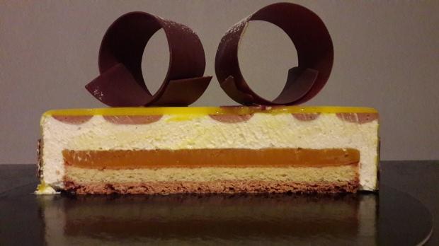 Entremet vanille mangue passion et chocolat au lait les for Chambre 13 vanille et citron